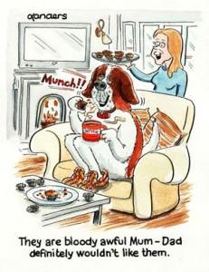 St Bernard Cartoon