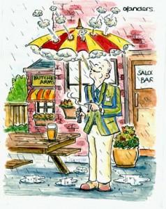 Funny retirement cartoon
