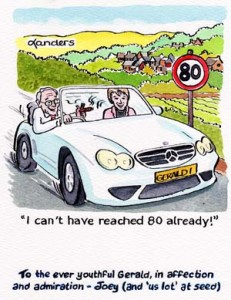 Birthday anniversary cartoon