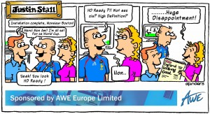 3 panel cartoon strip