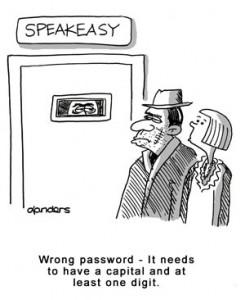 security code cartoon