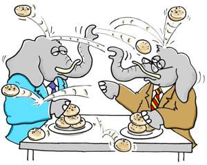 corporate visualisation cartoon humour