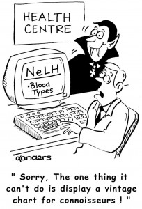 NHS blood cartoon