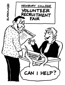 Recruitment cartoon