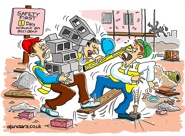 Health & Safety Cartoon
