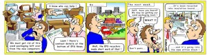 Expanded PolyStyrene Group Newsletter cartoon
