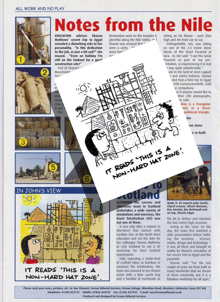 newsletter cartoon