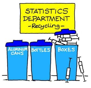 Boxes Statistics cartoon