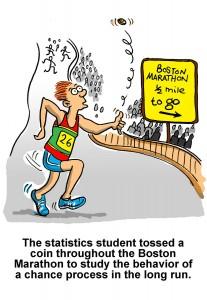 Marathon Statistics cartoon