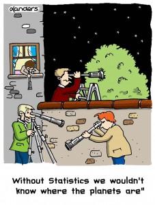 Stars Statistics cartoon